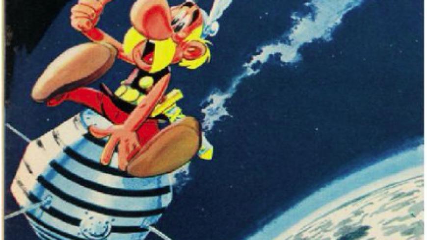 Lancement 1er satellite français : Astérix, le 26/11/65