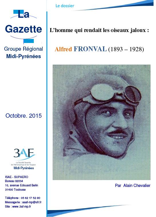3AF Dossier Alfred Fronval