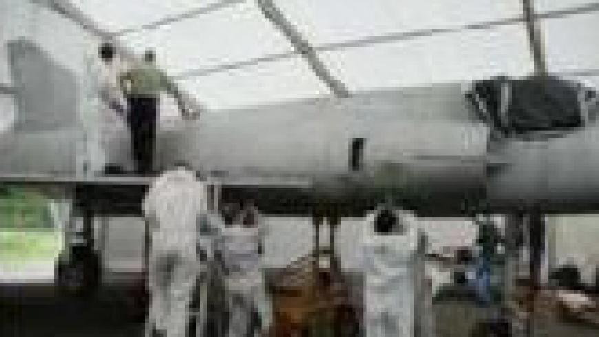 Rénovation du Mirage III A 02