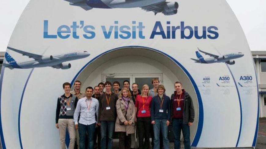 CR de la visite d'Airbus par EUROAVIA Leuven – Bruxelles – Belgique
