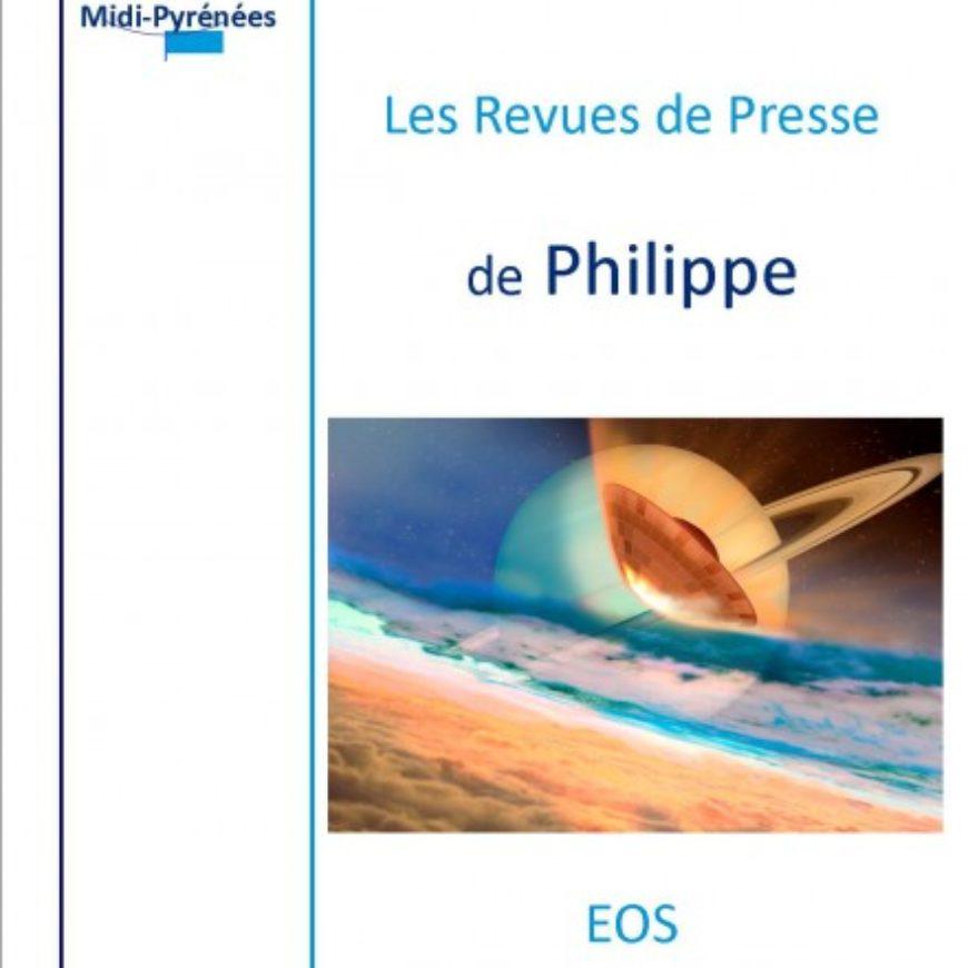 REVUE DE PRESSE Philippe Mairet