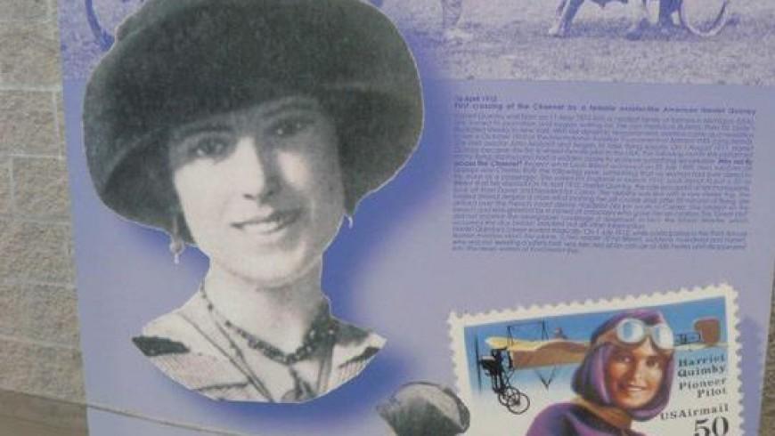 La première femme à traverser la Manche en avion : Harriet Quimby