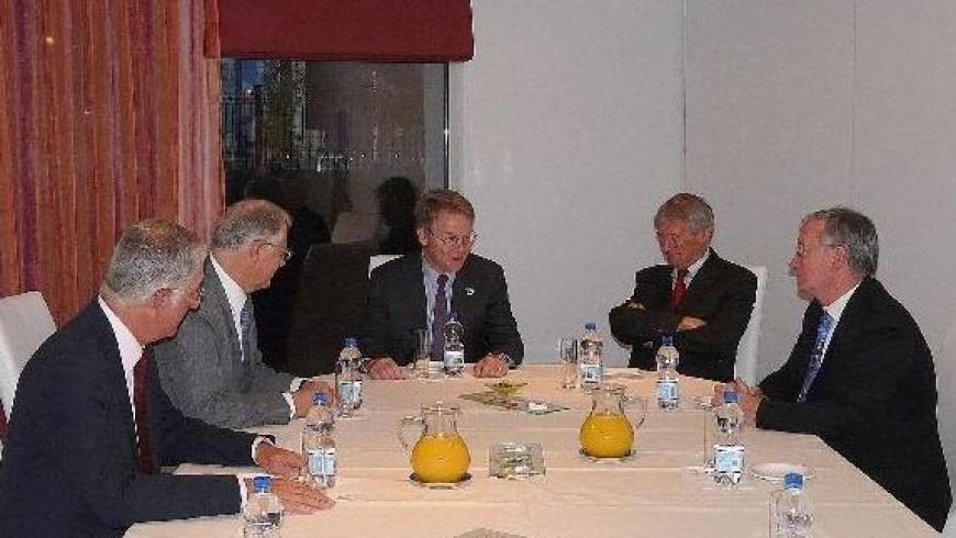 Visite de David Thompson Pr€ésident AIAA à' Toulouse