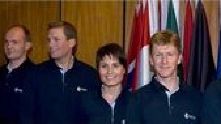 Les 6 nouveaux astronautes européens de l'ESA P.MAIRET