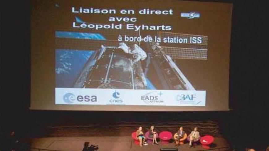 En direct de l'ISS avec Léopold Eyharts
