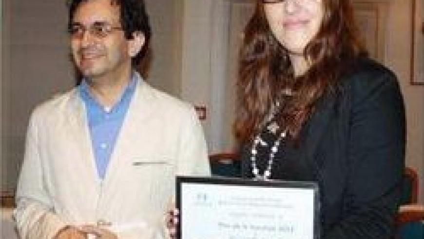 Remise du prix EOS 2013