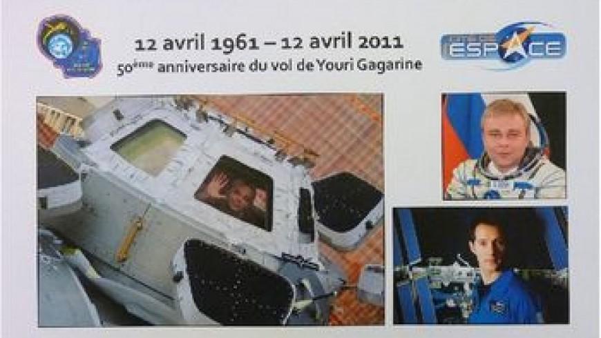 50ème anniversaire du 1er homme dans l'espace : Commémoration à la Cité de l'espace  A.Chevalier-P.Mairet