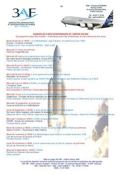 Programme des conférences3AF TMP2010