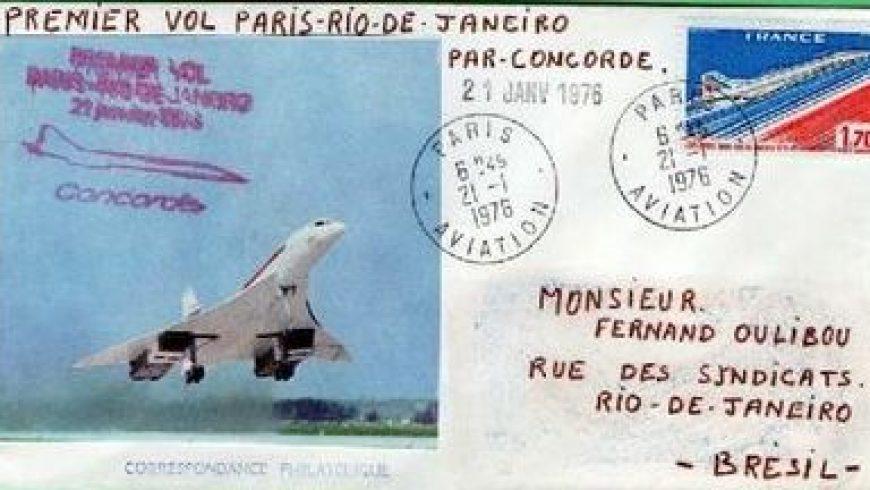 Concorde Historique des vols réguliers – Alain Chevalier