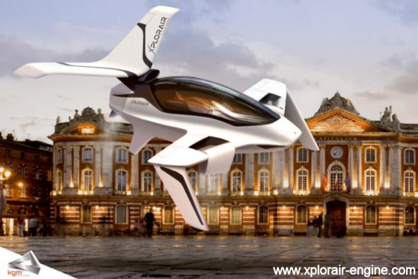 XPLORAIR PX 200 : l'Aéronef personnel du 21ème siècle ?