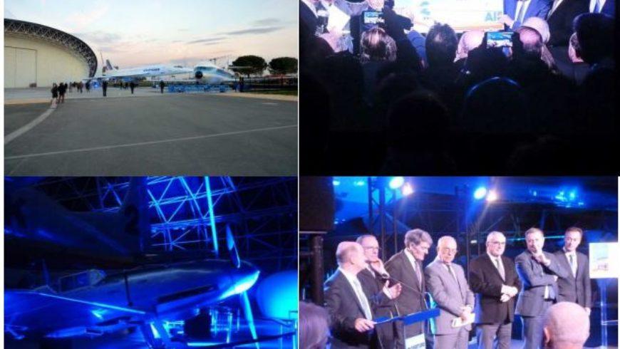 Inauguration du musée aéronautique AEROSCOPIA