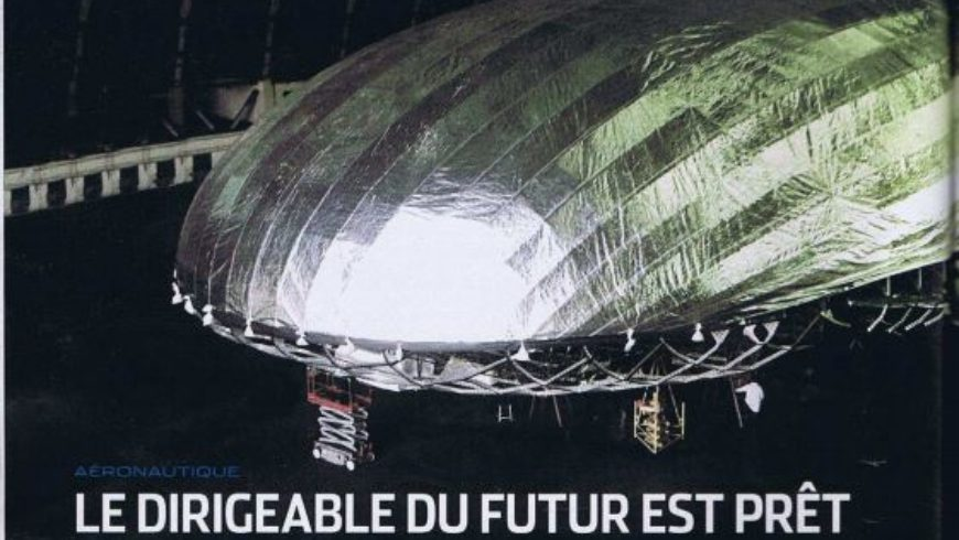 «Le dirigeable du futur est prêt»