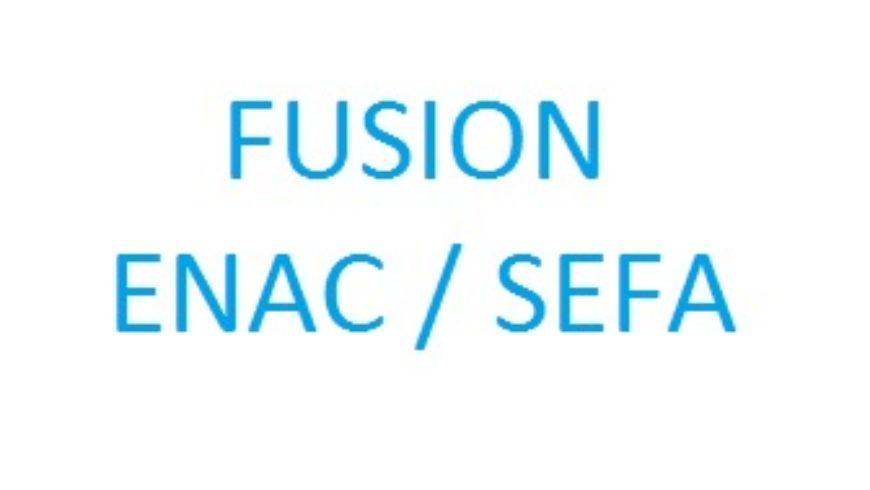 Fusion ENAC/SEFA
