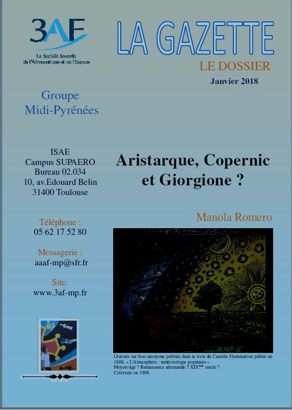 Aristarque, Copernic et Giorgione ?
