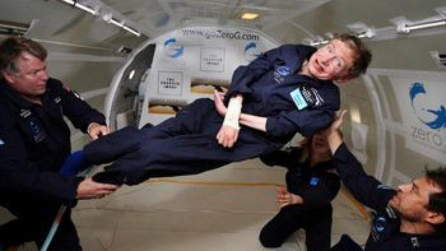 Stephen Hawking vivait d'une humanité spatiale O.Sanguy