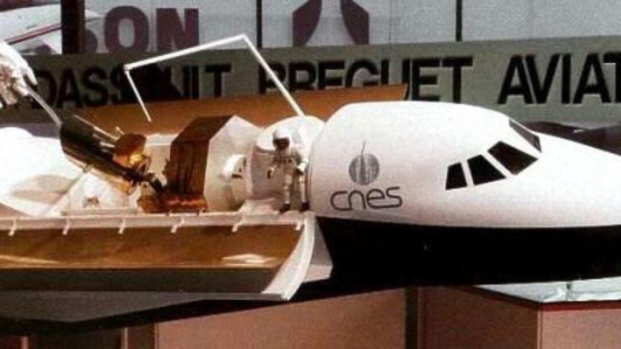 Les maquettes prototypes de l'avion spatial Hermès F Leproux